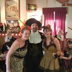 Bartley & Staff enjoying Halloween