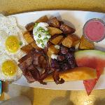 Exzellentes Frühstück im Radisson Calgary Airport
