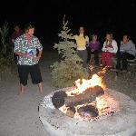 Burning the Xmas tree on the traditional Father's Day became a tradition for us