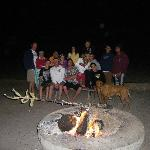 The fire pits are awesome.. bring firewood!