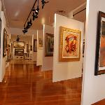 6,000 sq ft of Masters and Contemporary artists