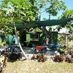 Kuku's Outside area