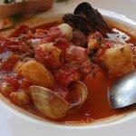 Yummy and big portion seafood stew!