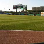 View from the right outfield