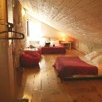 Attic room - very cozy :)