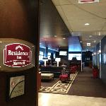 Residence Inn sign in Lobby