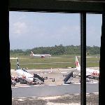 view from my bedroom window (room 251)