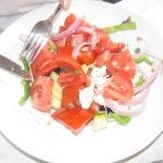 Greek Salad at Elaia´s