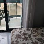 Aussicht und Matraze im Hotel