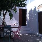 G Cottage courtyard - a haven of peace and quiet