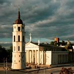 Vilnius Cathedral Square from Hotel Rooftop (47498226)