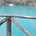 il lago dove sorge isola santa