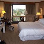 This was our King room, nice view.
