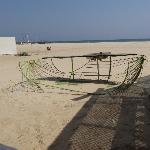 du restaurant de la plage: carcasse d'un ancien bar