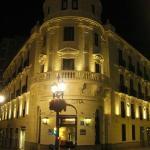l'hotel di notte,meraviglioso!