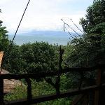 Vue de la terrasse de la suite Sambo 2