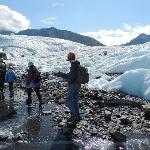 On Guided Hike of Matanuska Glacier