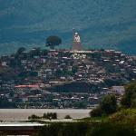 Janitzio from the docks of patzcuaro