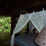 Cabin - open air with bi-fold sliding doors