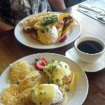 Dungeness Crab Benedict and Huevos Rancheros - A Must-Eat!