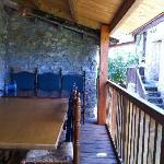 Terraza casa principal