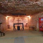 Inside Catacomb Church
