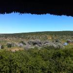 The view from Domkrag guest house
