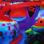 """Electric Ladyland - the First Museum of Fluorescent Art"" Amsterdam, Nick Padalino, 1999"