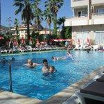The pool at Club Atrium