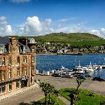 The Royal Hotel Overlooking Campbeltown Harbour