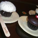 Coconut, Chocolate Marshmallow, and Vanilla