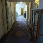couloir hôtel
