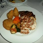 Mixed grill at the O'Victoria restaurant (STUNNING)