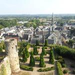 view from the Luynes castle