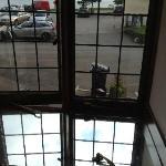 window latch broken