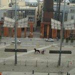 Horse market on Smithfield Square