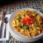 Frito Pie with Red Chile