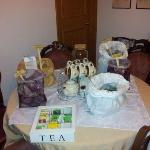 Il tavolo del té