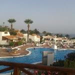 123 El Beril - pool / view from balcony