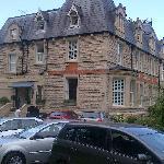 Villa Magdala, Bath, UK. from carpark