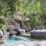 "Maya"" Kneipp pool (temp: 18° and 38°) 2 baths, the bigger one having hot and the smaller one col"