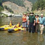 Our family on the Klamath River