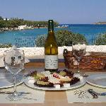 Greek Food-Drinks-Beautiful view
