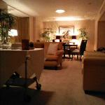 Imperial Palace suite, 1254. Top floor, very quiet, private living room