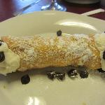 Large cannoli, delicious!