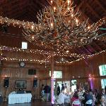 The Reception in the Inn's Newly Renovated Barn