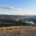 From Dome Mountain, overlooking Dawson City