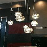 lighting in lobby