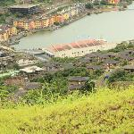 An areal view of Lavasa