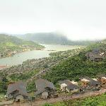 Another areial shot of Lavasa